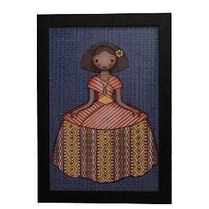 Quadro Decorativo Boneca de Vestido #2