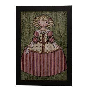 Quadro Decorativo Boneca de Vestido #6