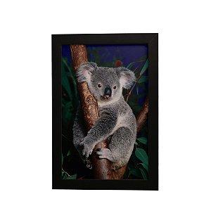 Quadro Decorativo Koala Pendurado