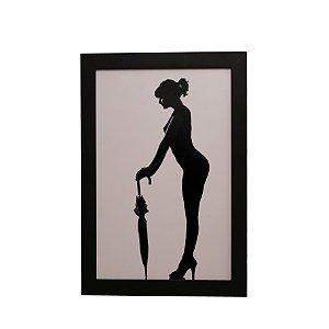 Quadro Decorativo Mulher Posando