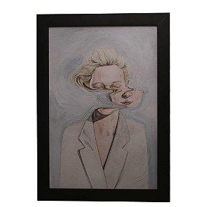 Quadro Decorativo Mulher Abstrata