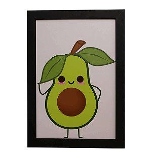 Quadro Decorativo Infantil Abacate