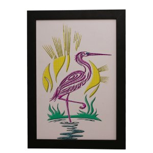Quadro Decorativo Flamingo Arte