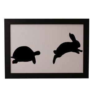 Quadro Decorativo Corrida Animal