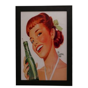 Quadro Decorativo Soda Vintage
