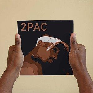 Quadro Decorativo 2 Pac - Coleção Revista Rap