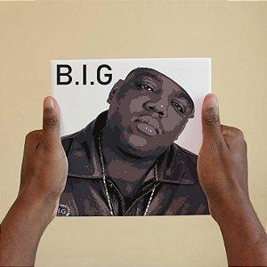 Quadro Decorativo Notorious Big - Coleção Revista Rap