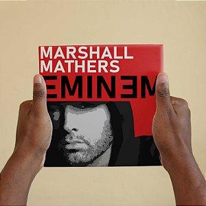 Quadro Decorativo Eminem - Coleção Revista Rap