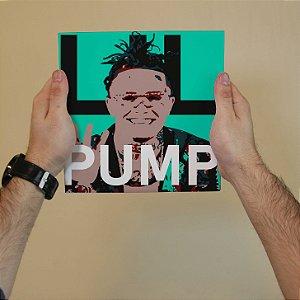 Quadro Decorativo Lil Pump - Coleção Revista Rap