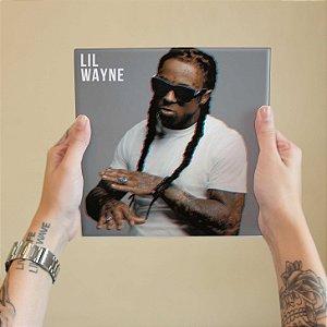 Quadro Decorativo Lil Wayne #2 - Coleção Revista Rap