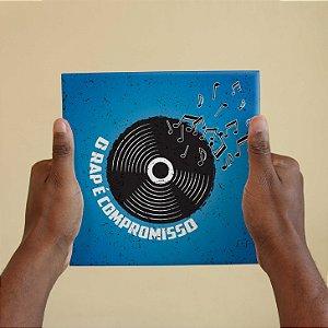 Quadro Decorativo Letra Sabotage - Coleção Revista Rap