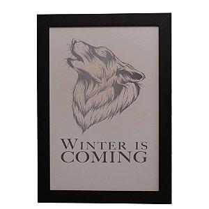 Quadro Decorativo Winter is Coming (Game of Thrones)