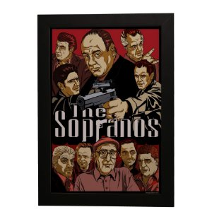 Quadro Decorativo The Sopranos