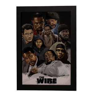 Quadro Decorativo The Wire