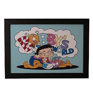 Quadro Decorativo Fantástico Mundo de Bobby