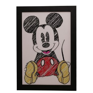 Quadro Decorativo Mickey Mouse #1