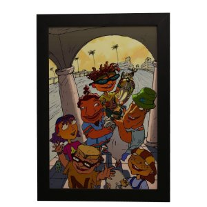Quadro Decorativo Rocket Power