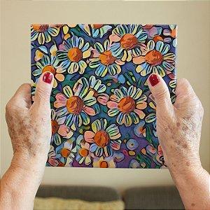 Azulejo Decorativo Florido