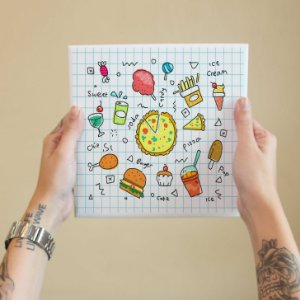 Azulejo Decorativo Doodle