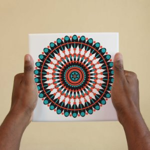 Azulejo Decorativo Mandala #3