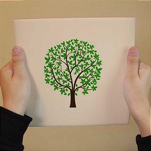 Azulejo Decorativo Árvore Minimalista