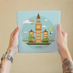 Azulejo Decorativo London Baby