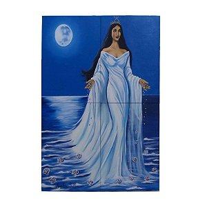 Painel de Iemanjá Personalizado em Azulejo