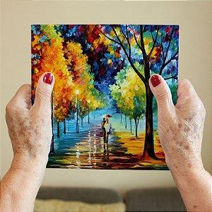 Azulejo Decorativo Pintura Parque