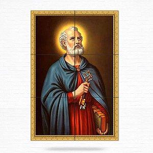 Painel Decorativo de Azulejo São Pedro