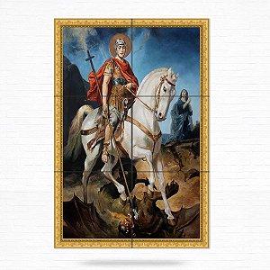 Painel Decorativo de Azulejo de São Jorge