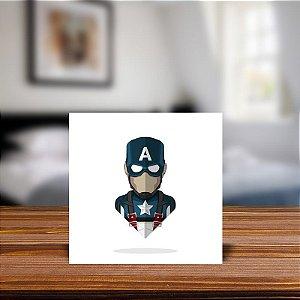 Azulejo Decorativo Capitão America