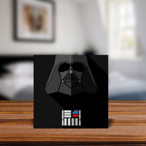 Azulejo Decorativo Minimalista Darth Vader