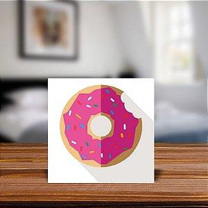 Azulejo Decorativo Minimalista Donut