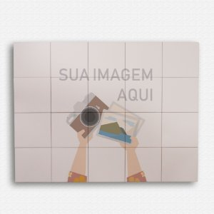 Painel Decorativo de Azulejo 80x100 cm