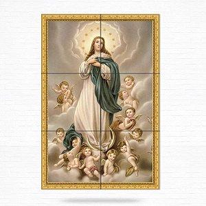 Painel Decorativo de Azulejo Nossa Senhora da Conceição