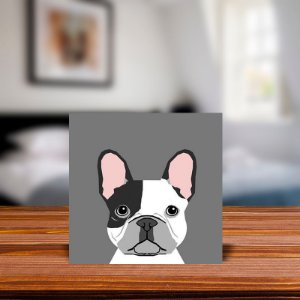Azulejo Decorativo Bulldog Frances
