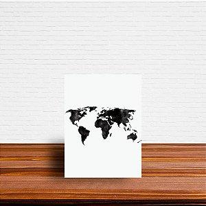 Azulejo Decorativo Mapa Mundi