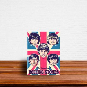 Azulejo Decorativo Rolling Stones