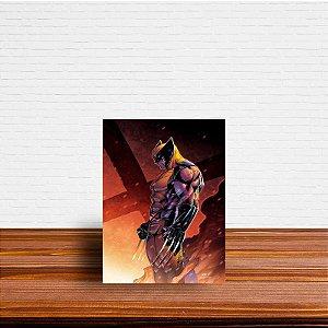 Azulejo Decorativo Wolverine