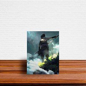 Azulejo Decorativo Sasuke