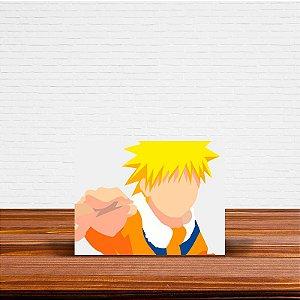 Azulejo Decorativo Minimalista Naruto