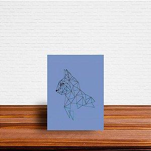 Azulejo Decorativo Geométrico Gato