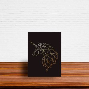 Azulejo Decorativo Geométrico Unicornio