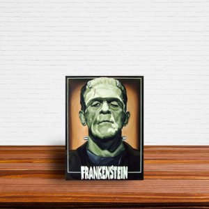 Azulejo Decorativo Frankenstein