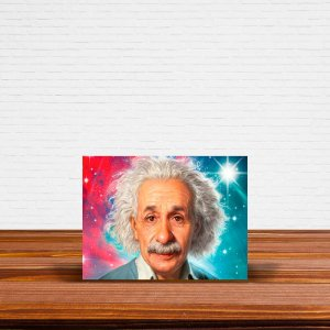 Azulejo Decorativo Albert Einstein