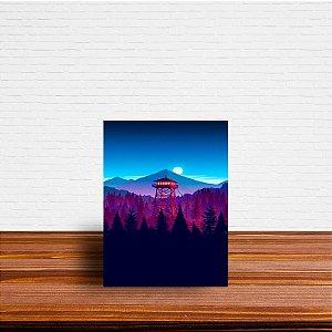 Azulejo Decorativo Paisagem Torre