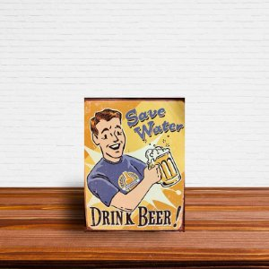 Azulejo Decorativo Drink Beer