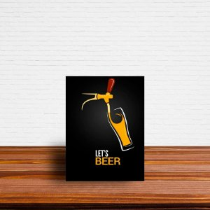 Azulejo Decorativo Let's Beer