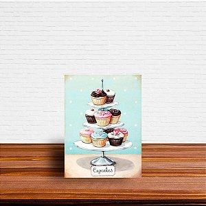 Azulejo Decorativo Cupcakes