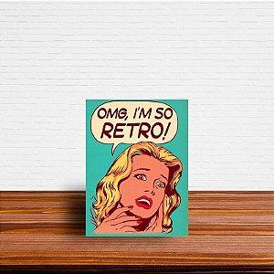 Azulejo Decorativo OMG, I'm So Retro!